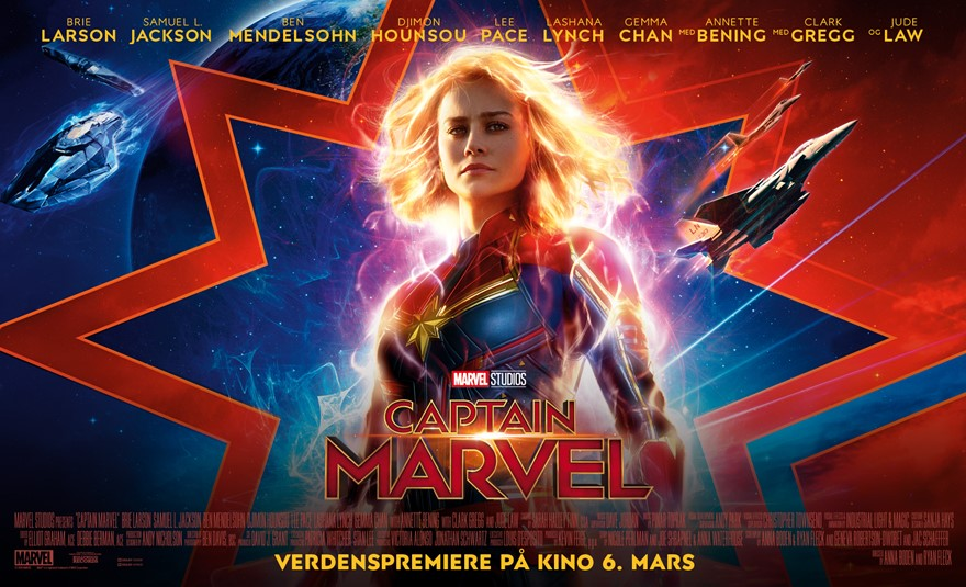 Captain Marvel (3D, Atmos)