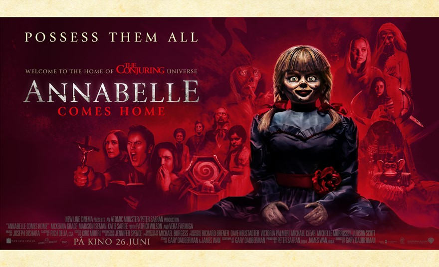 Annabelle Comes Home (Atmos)
